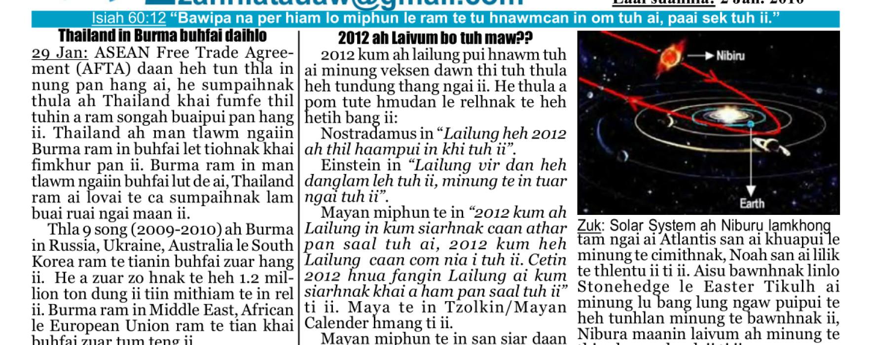 Zanniat Auaw: Vol-2-Issue-1-Jan-2010
