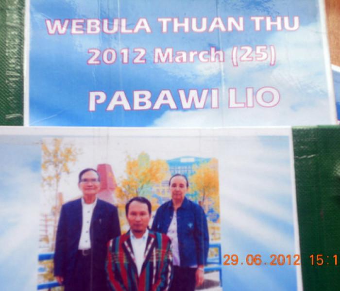 Webula Thuanthu laibu, Pa Bawi Lio ngahnak suak hang