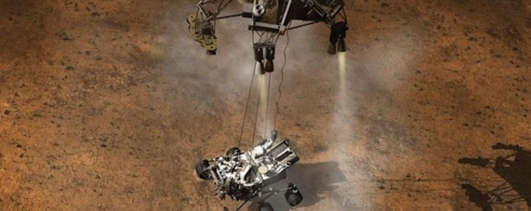 Mars lailung ah Curiosity Rover theuh zo, kin lailung ah zut kuat