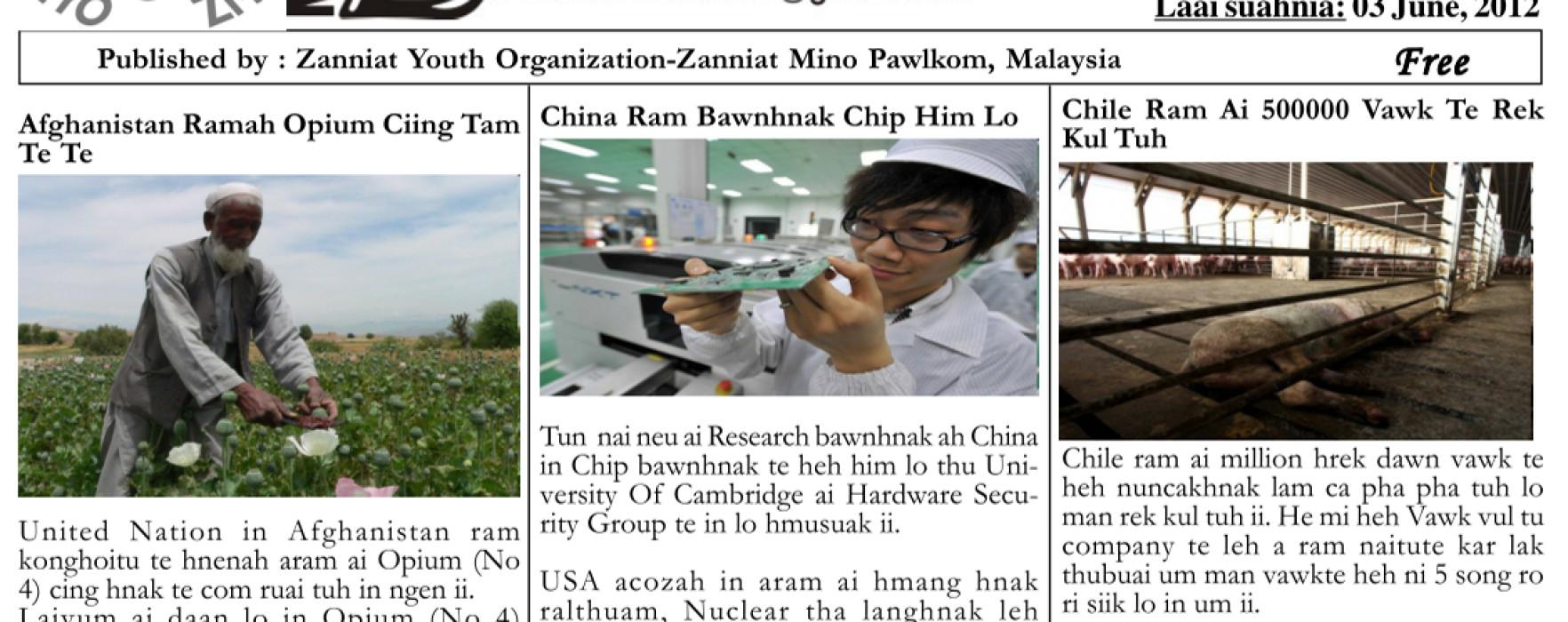 Zanniat Auaw: Vol-4-Issue-Jun-2012