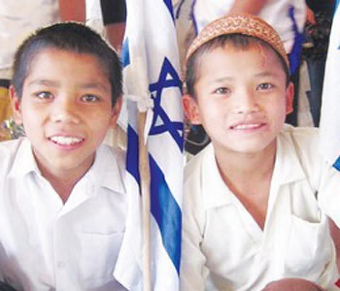 India ram an Israel miphun paai Israel ram ah tlung