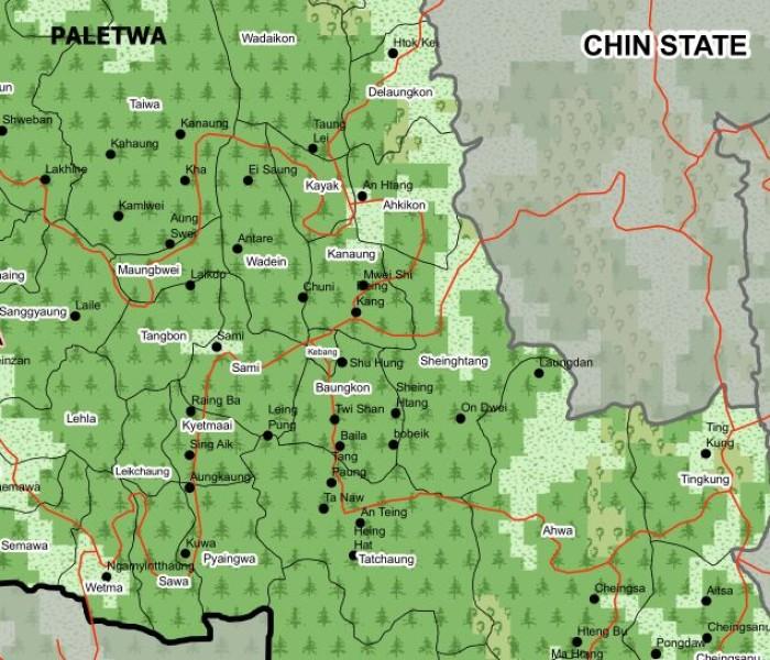 Chin State ai Paletwa township song ah Sami Sub-township ding zo