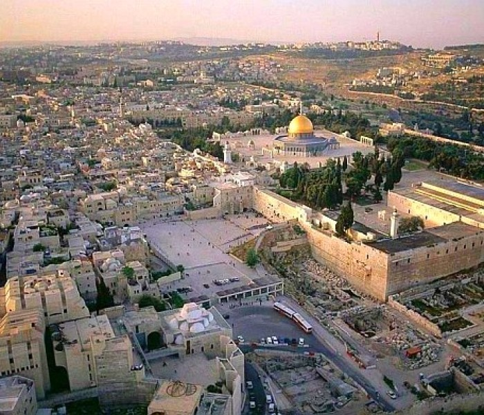 Jews te Temple Mount ah sawngen ve lekhaw ral tho tuh