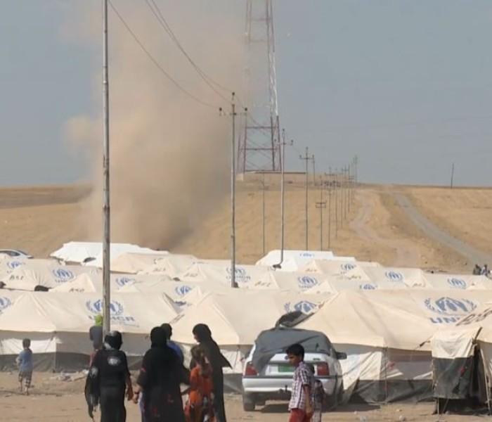 Iraq ai Christian te dinhmun laukul, refugee in tlaan
