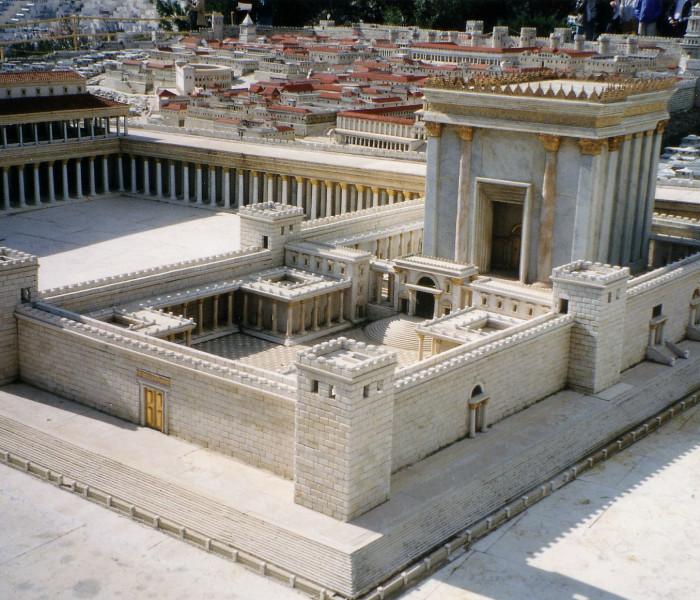 Jerusalem Temple thar sa hnak tuh sumsaw khon zo ai design bawn zo