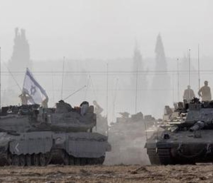 Gaza in rocket hmangin kaap maanin Israel in tank thawn tawng