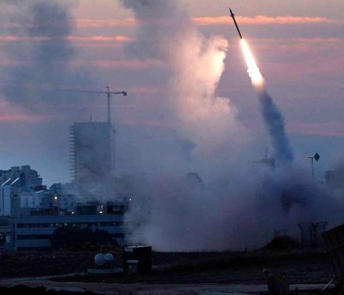 2014 kum hnua ah Gaza in rocket in kaap maanin Israel in kaap leh