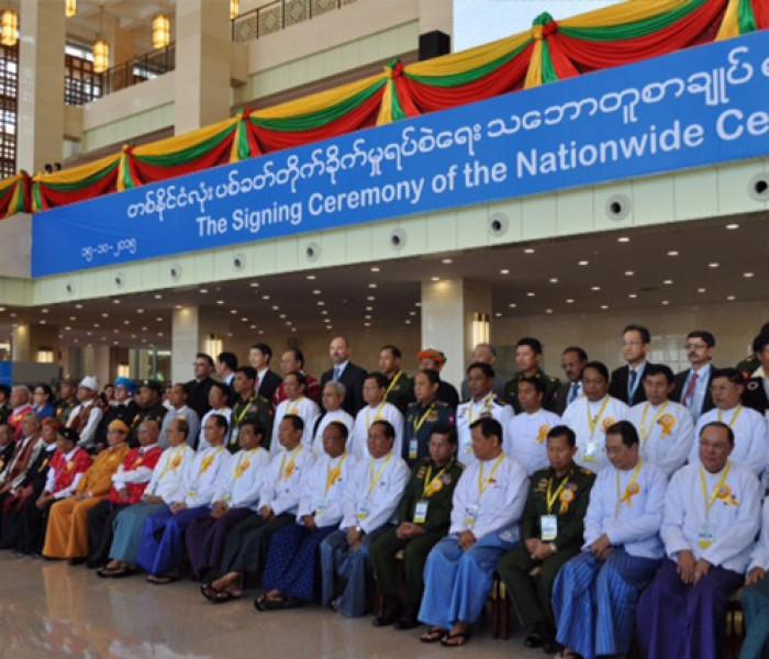 Myanmar ralkap acozah le tlangvummiphun pawlkom 8 in NCA ah hming khen zo
