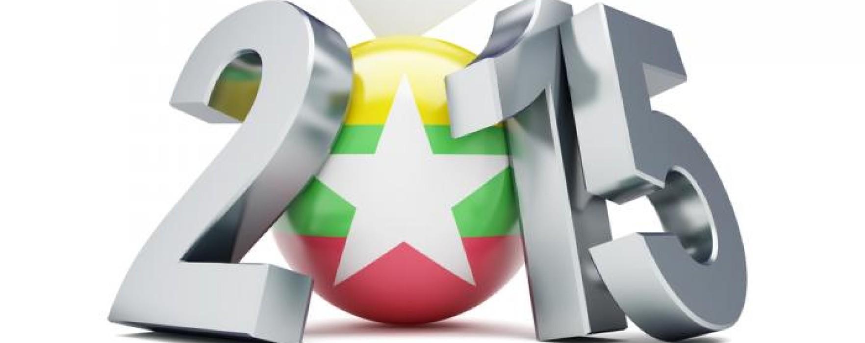 2015 Myanmar Election ah Party pawl in tohkham ngahzat