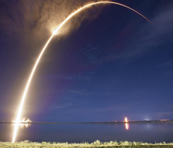 Tluang ngaiin SpaceX rocket lailung ah khop