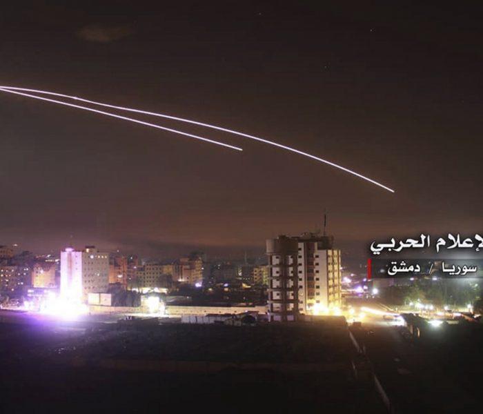 Israel in Damascus hiang ai Iran kaap