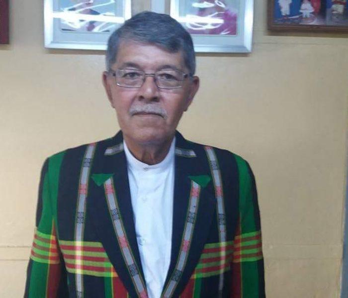 Pu Terrace San Mawi Nikhuai in Chairman of Chin State Administrative Council pervo ngah